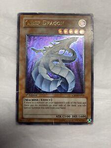 YUGIOH Cyber Dragon CRV-EN015 Ultimate Rare 1st Edition
