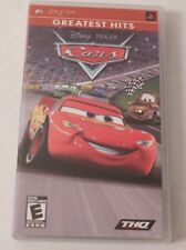 PSP Cars Greatest Hits Sony Playstation Portable Disney Pixar Complete