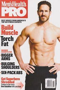Men's Health Pro Magazine New