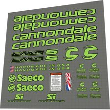 Cannondale caad5 saeco Frame decal set