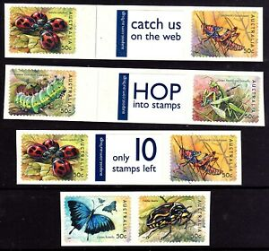 Bugs & Butterflies 2003 Message Strips from Roll  • FREE POST •