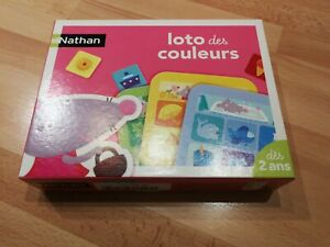 Jeu Loto des couleurs, Nathan, TBE