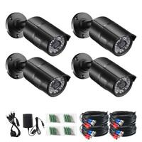 ZOSI 4 PACK 1080P 4in1 HD Camera Outdoor CCTV Home Security Surveillance  System