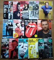 14x Musikexpress 2014 Zeitschrift Magazin Sammlung Hefte Jahrgang Pop Charts