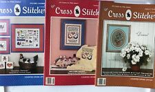 Cross Stitcher 3 Vintage 1987 Magazines Volume 5 Numbers 1, 2, & 3