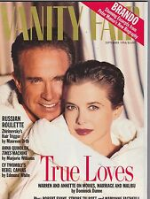 SEPT 1994 VANITY FAIR vintage magazine ( UNREAD - NO LABEL ) WARRET BEATTY