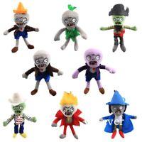 7'' Mini Plants vs Zombies Plush Baby Staff Toy Stuffed Soft Doll PVZ Keychain
