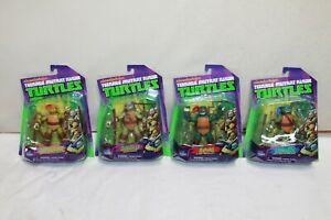 2012 Playmates TMNT Michelangelo, Donatello, Raphael, Leonardo MOC Nickelodeon