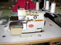 SIRUBA 747   4 Thread Industrial Overlocker Sewing Machine Fully Serviced