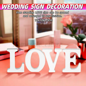 Letter Love Sign Board Wedding Banquet Party Home Decoration Photo Prop US CA3