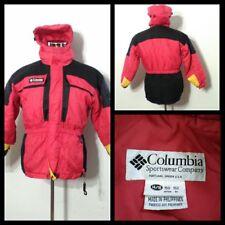 f65ee12e7a1f0 Columbia Tectonite Chaqueta de Esquí Juventud 14 16 Rojo y Negro