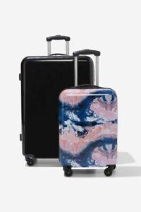 Typo Suitcase Set with Tsa Lock