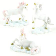 Miniature Dollhouse Fairy Garden - Mythical Unicorns - Set of 3 - Accessories