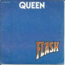 """45 TOURS / 7"""" SINGLE--QUEEN--FLASH / FOOTBALL FIGHT--1980--"""