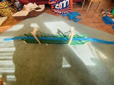 Tomy Thomas The Tank Engine Trackmaster Large Green Suspension Bridge With track