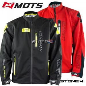 MOTS Stone 4 Trials Riding Weatherproof Jacket with Detachable Inner Fleece