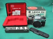 Leica R4 Silver Body Camera + Box + Case Mint Condition; New Old Stock NOS (3)