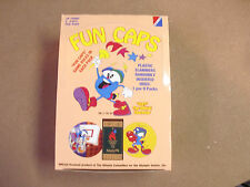 OLYMPICS GAMES WITH IZZY POGS/MILKCAPS BOX (36) UNOPENED PACKS BY COLLECT A CARD