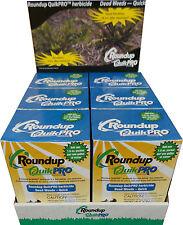 1 Case Roundup QuikPro Weed Killer Herbicide QuickPro - 30 Packets