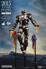 Hot toys MMS 303 Iron Man Mark xxiv réservoir toy Fair ex NOUVEAU & OVP rare * top * 1/6 scale