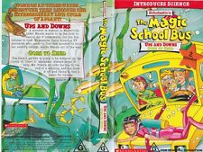 MAGIC SCHOOL BUS UPS AND DOWNS/GOES TO SEED  VHS VIDEO PAL~ A RARE FIND