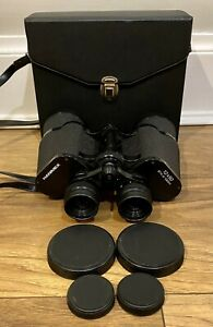 Hanimex Binoculars 12x50 87m at 1000m Comes In Case Excellent Condition