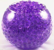 400 Water Beads Crystal Bio Soil GEL Ball Wedding Vase Vase Filler Party Purple