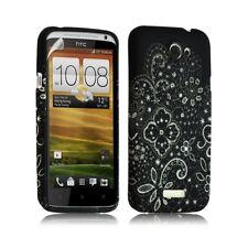 Housse coque étui gel pour HTC One X motif LM11 + Film protecteur