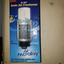 Genuine Air Innovations Xj-201 Ionizer Purifier Ionic Freshener w/ Night Light