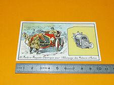 CHROMO 1920-1925 ELECTRICITE MACHINE MAGNETO-ELECTRIQUE ALLUMAGE MOTEURS AUTOS