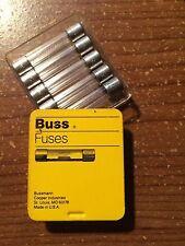 5 pcs  AGC3/4 AGC-3/4 BUSS BUSSMANN FUSES 0.75A 250V  Fast Acting