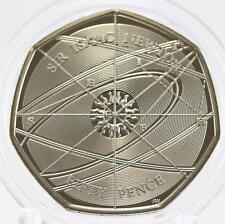 2017 Royal Mint Isaac Newton 50p coin BU brilliant uncirculated