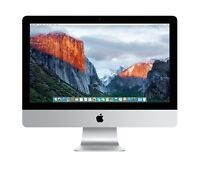 "Apple iMac 21.5"" Desktop - MC508LL/A - 3.06 GHz Core i3 8GB RAM 500GB HDD"