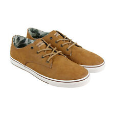 Tommy Bahama Dune Drifter TB7F00113 Mens Brown Leather Low Top Sneakers Shoes