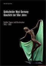 Fachbuch Goldscheider West-Germany, Keramik Design der 50er Jahre, NEU