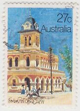 (DB596) 1982 AU 27c historic post offices (A)