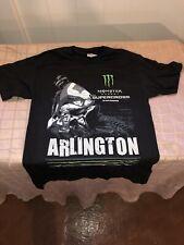Monster Energy AMA Supercross FIM World Championship Arlington T-shirt Adult Med