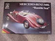 1/8 Scale Pocher 1936 Mercedes Benz 540K Rumble Seat Kit K90 Factory Sealed