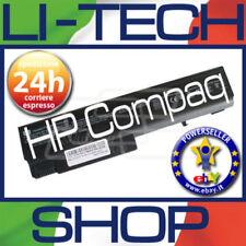 Batteria compatibile per HP COMPAQ 6710B 10.8V 11.1V 6 CELLE NERO NOTEBOOK NUOVA