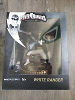 Saban's power rangers. PCS collectibles. White Ranger
