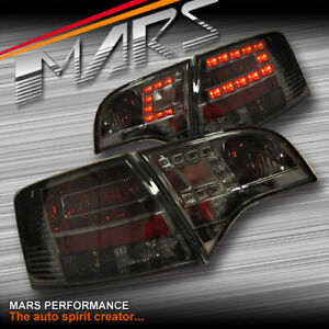 Smoked LED Tail Lights Taillight for AUDI A4 S4 RS4 S-Line B7 AVANT Wagon