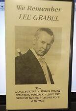 We Remember Lee Grabel VHS Video Tape Burton Pollock Kole Ray McGill magicians