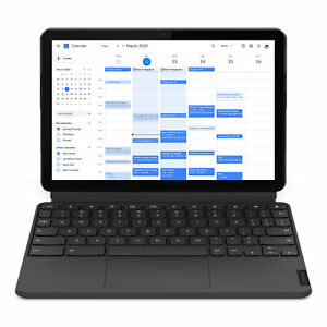 """Lenovo Chromebook Duet Laptop, 10.1"""" FHD IPS Touch  400 nits"""