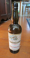 OLD CONSOLADOR PORT WINE BOTTLE with LABEL - James Roberts & Co London
