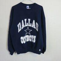 Vintage Russell Dallas Cowboys Crewneck Sweatshirt Made in USA - Men's XL