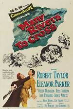 MANY RIVERS TO CROSS Movie POSTER 27x40
