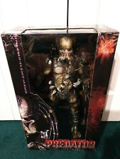"""NECA 18"""" Predator UNMASKED CLOSED MOUTH 2011 MISP! 1/4 Scale NEW! UNOPENED!"""