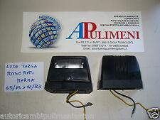 COPPIA FANALE TARGA CARELLO 10216716 10213523 FIAT BERTONE X1/9 MASERATI MERAK