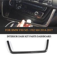 LHD Echt Dry Carbon Vorne Armaturenbrett Rahmen Für BMW F80 M3 F82 F83 M4 Tuning