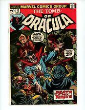 Tomb of Dracula#13 1973 1st Series 1st app of Deacon Frost Blade Origin Comic